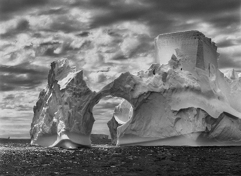 Iceberg between Paulet Island and the South Shetland Islands on the Weddell Sea.  Antarctic Peninsula. 2005. © Sebastião Salgado / Amazonas images