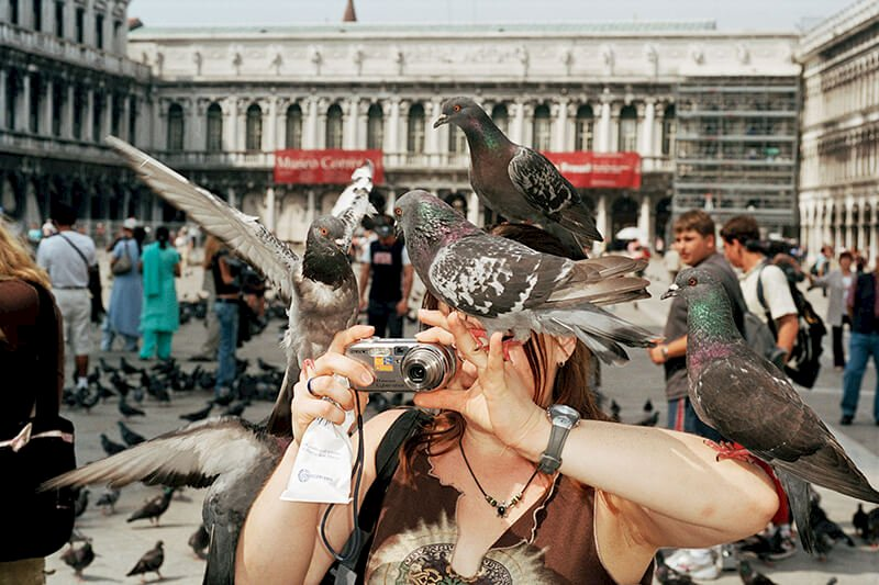 From 'Small World'. Venice. ITALY 2005 © Martin Parr / Magnum Photos und Kunstfoyer